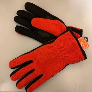 Pretty Stretch OS Red/Black Gloves